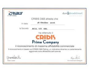 Cribis Prime Company 2016