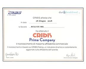 Cribis Prime Company 2018